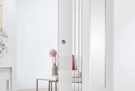 Schiebetüren aus Holz oder aus Glas
