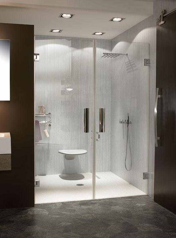 Badezimmer - Einsatzort für Duschtüren aus Glas