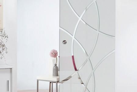 Glasschiebetüren-Stil harmonieren.