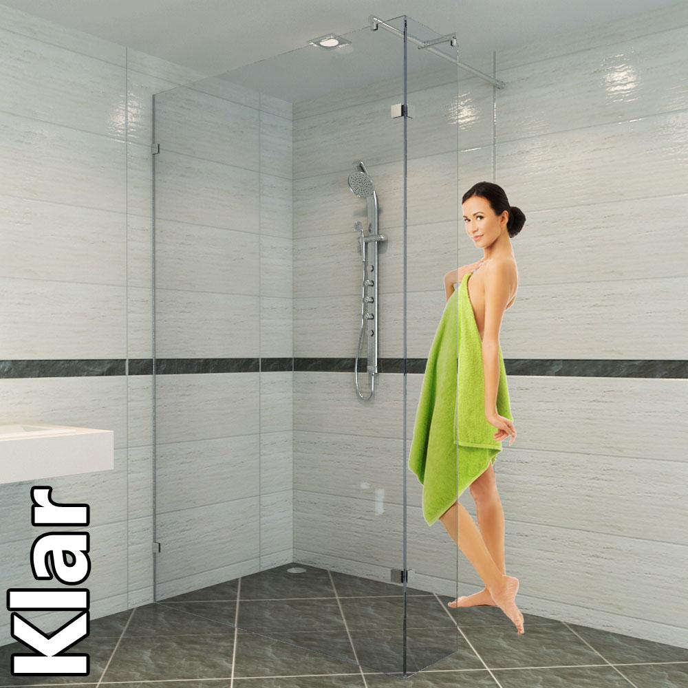 Walk in dusche - Schick und praktisch